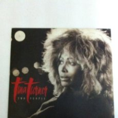 Discos de vinilo: TINA TURNER - TWO PEOPLE. Lote 183456932