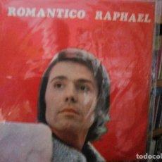 Discos de vinilo: EL ROMANTICO RAPHAEL ( CHILE ) TE VOY A DAR LO QUE TU QUIERAS - NADIE MAS - A MI MANERA -. Lote 183458807
