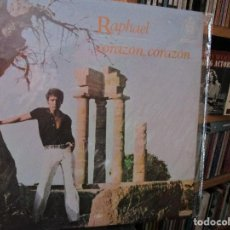 Discos de vinilo: RAPHAEL CORAZON, CORAZON ( MEXICO ) TE QUIERO, TE QUIERO / LA VOZ DEL SILENCIO / EL ANGEL / ALGUIEN . Lote 183459021