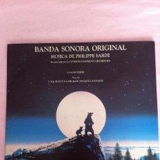 Discos de vinilo: EL OSO LP BANDA SONORA ORIGINAL MUSICA PHILIPPE SARDE 1988. Lote 183460126