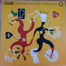 Discos de vinilo: COMPILACIÓN - STRICTLY FOR LOVERS (REGGAE) 1985 UK. Lote 183460332