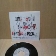 Discos de vinilo: DIARIO POP, DIEZ AÑOS DE.., LOS HERMANOS DALTON, LOS ENEMIGOS, VARIOS.... Lote 183461865