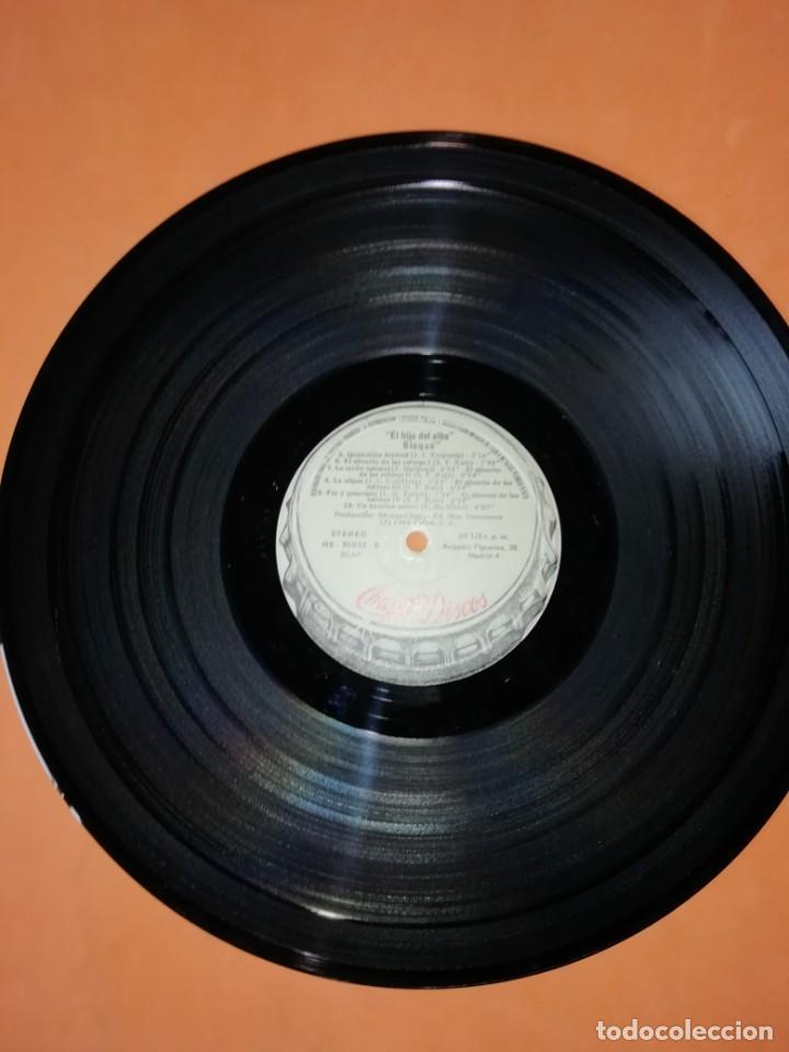 Discos de vinilo: BLOQUE - EL HIJO DEL ALBA . CHAPA - 1980 - Foto 4 - 183463412