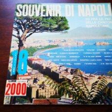 Discos de vinilo: SOUVENIR DI NAPOLI. Lote 183464718