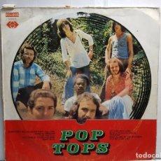 Discos de vinilo: LP-POP TOPS- EN FUNDA ORIGINAL AÑO 1971. Lote 183465458