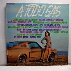 Discos de vinilo: LP-A TODO GAS- EN FUNDA ORIGINAL AÑO 1973. Lote 183466297