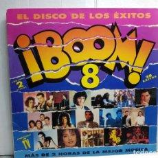 Discos de vinilo: DOBLE LP-BOOM 8 - EN FUNDA ORIGINAL AÑO 1992. Lote 183466536