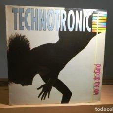 Discos de vinilo: TECHNOTRONIC - PUMP UP THE JAM LP VINILO 1989 ESPAÑA MAX MUSIC VG/VG . Lote 183470485