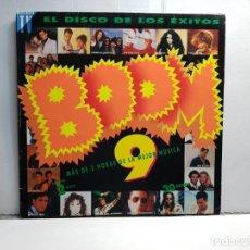 Discos de vinilo: DOBLE LP-BOOM 9 - EN FUNDA ORIGINAL AÑO 1993. Lote 183476655