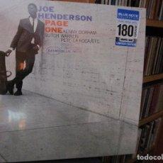 Discos de vinilo: JOE HENDERSON PAGE ONE KENNY DORHAM BUTCH WARREN VINILO 180 GRAM BLUE NOTE. Lote 183477171