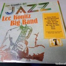 Discos de vinilo: LOS GRANDES DEL JAZZ NUMERO 7 LEE KONITZ BIG BAND. Lote 183477200