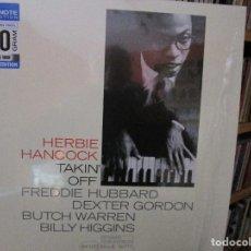 Discos de vinilo: HERBIE HANCOCK TAKIN' OFF FREDDIE HUBBARD DEXTER GORDON VINILO 180 GRAM BLUE NOTE. Lote 183477513