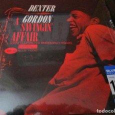 Discos de vinilo: DEXTER GORDON A SWNGIN' AFFAIR VINILO 180 GRAM BLUE NOTE. Lote 183478062