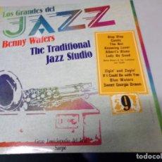 Discos de vinilo: LOS GRANDES DEL JAZZ NUMERO 9 BENNY WATERS, THE TRADITIONAL, JAZZ STUDIO. Lote 183478235