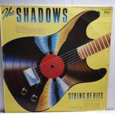 Discos de vinilo: LP-THE SHADOWS-STRING OF HITS EN FUNDA ORIGINAL AÑO 1979. Lote 183479281