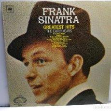 Discos de vinilo: LP-FRANK SINATRA-GREATEST HITS EN FUNDA ORIGINAL AÑO 1952. Lote 183480367