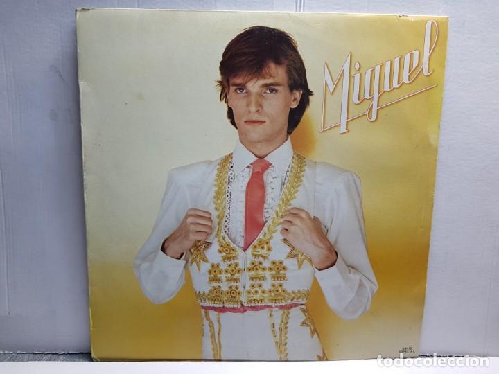 LP-MIGUEL BOSE-MIGUEL EN FUNDA ORIGINAL AÑO 1980 (Música - Discos - LP Vinilo - Solistas Españoles de los 70 a la actualidad)