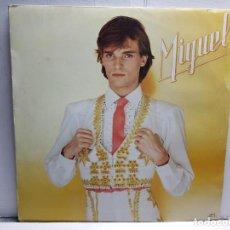 Discos de vinilo: LP-MIGUEL BOSE-MIGUEL EN FUNDA ORIGINAL AÑO 1980. Lote 183481143