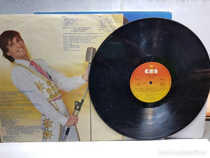 Discos de vinilo: LP-MIGUEL BOSE-MIGUEL en funda original año 1980 - Foto 3 - 183481143