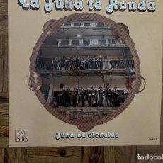 Discos de vinilo: TUNA DE CIENCIAS-LA TUNA TE RONDA LP VINILO 1979. Lote 183481681