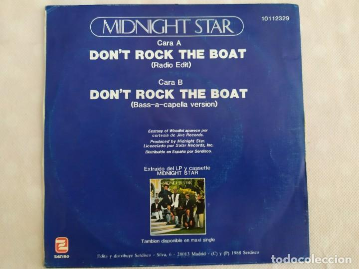 Discos de vinilo: Midnight Star – Don't Rock The Boat - Foto 2 - 183482778