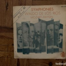 Discos de vinilo: WALDO DE LOS RIOS / MOZART* / HAYDN* – SYMPHONIES SELLO: HISPAVOX – 2022 004 FORMATO: VINYL, 7 . Lote 183483103
