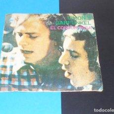 Discos de vinilo: SIMON & GARFUNKEL ---ELCONDOR PASA / PORQUE NO ME ESCRIBES -- AÑO 1970. Lote 183485000