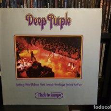 Discos de vinilo: DEEP PURPLE - MADE IN EUROPE. Lote 183485427