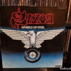 Discos de vinilo: SAXON - WHEELS OF STEEL. Lote 183485590
