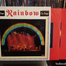 Discos de vinilo: RAINBOW - ON STAGE - 2 LP'S. Lote 183485985
