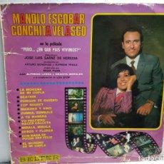 Discos de vinilo: LP-MANOLO ESCOBAR-PERO..¿EN QUE PAIS VIVIMOS? EN FUNDA ORIGINAL AÑO 1967. Lote 183486501