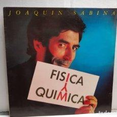 Discos de vinilo: LP-JOAQUIN SABINA-FISICA O QUIMICA EN FUNDA ORIGINAL AÑO 1992. Lote 183486670