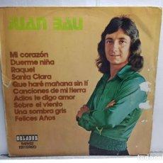 Discos de vinilo: LP-JUAN BAU- EN FUNDA ORIGINAL AÑO 1975. Lote 183486763
