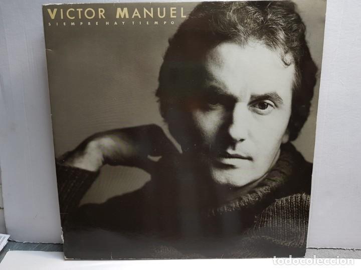 DOBLE LP-VICTOR MANUEL Y ANA BELEN-SIEMPRE HAY TIEMPO EN FUNDA ORIGINAL AÑO 1986 (Música - Discos - LP Vinilo - Solistas Españoles de los 70 a la actualidad)