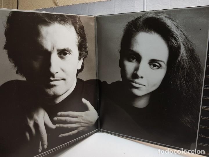 Discos de vinilo: DOBLE LP-VICTOR MANUEL Y ANA BELEN-SIEMPRE HAY TIEMPO en funda original año 1986 - Foto 2 - 183487288