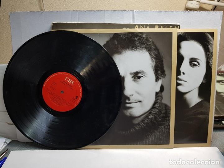 Discos de vinilo: DOBLE LP-VICTOR MANUEL Y ANA BELEN-SIEMPRE HAY TIEMPO en funda original año 1986 - Foto 4 - 183487288