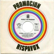Discos de vinilo: ALASKA Y PEGAMOIDES – BAILANDO (VERSIÓN CORTA INGLÉS/ESPAÑOL) - SG PROMO SPAIN 82 - HISPAVOX CP-40. Lote 183487455