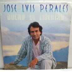Discos de vinilo: LP-JOSE LUIS PERALES-SUEÑO DE LIBERTAD EN FUNDA ORIGINAL AÑO 1987. Lote 183487787