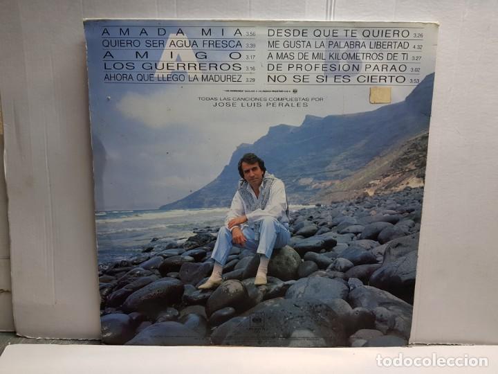 Discos de vinilo: LP-JOSE LUIS PERALES-SUEÑO DE LIBERTAD en funda original año 1987 - Foto 2 - 183487787