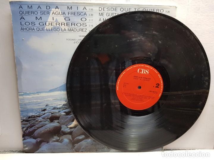 Discos de vinilo: LP-JOSE LUIS PERALES-SUEÑO DE LIBERTAD en funda original año 1987 - Foto 3 - 183487787
