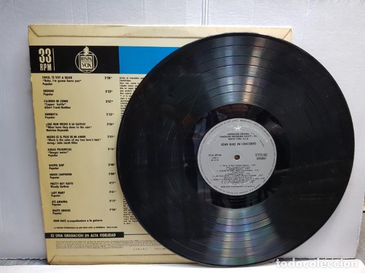 Discos de vinilo: LP-JOAN BAEZ- EN CONCIERTO en funda original año 1966 - Foto 3 - 183488566
