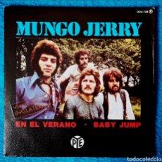 Discos de vinilo: EN EL VERANO - MUNGO JERRY. Lote 183490726