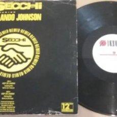Discos de vinilo: SECCHI FEAT. ORLANDO JOHNSON / KEEP ON JAMMIN' / MAXI-SINGLE 12 INCH. Lote 183493003