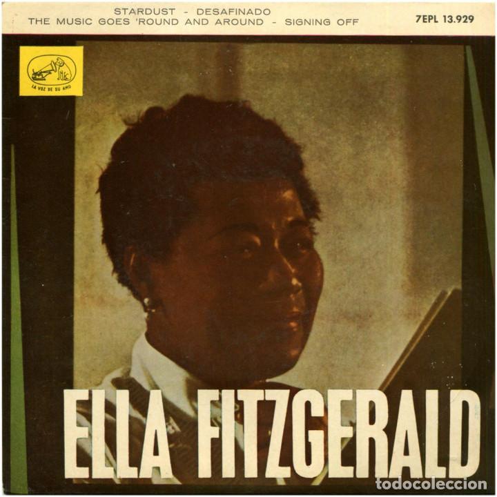 ELLA FITZGERALD (MARTY PAICH) – STARDUST - EP SPAIN 1963 - 7EPL 13.929 (Música - Discos de Vinilo - EPs - Jazz, Jazz-Rock, Blues y R&B)