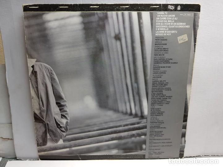Discos de vinilo: LP-EROS RAMAZZOTTI-HEROES DE HOY en funda original año 1986 - Foto 2 - 183495598