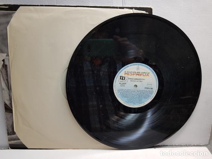 Discos de vinilo: LP-EROS RAMAZZOTTI-HEROES DE HOY en funda original año 1986 - Foto 3 - 183495598