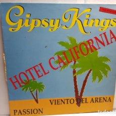 Discos de vinilo: MAXI SINGLE-GIPSY KINGS-HOTEL CALIFORNIA EN FUNDA ORIGINAL AÑO 1991. Lote 183502341