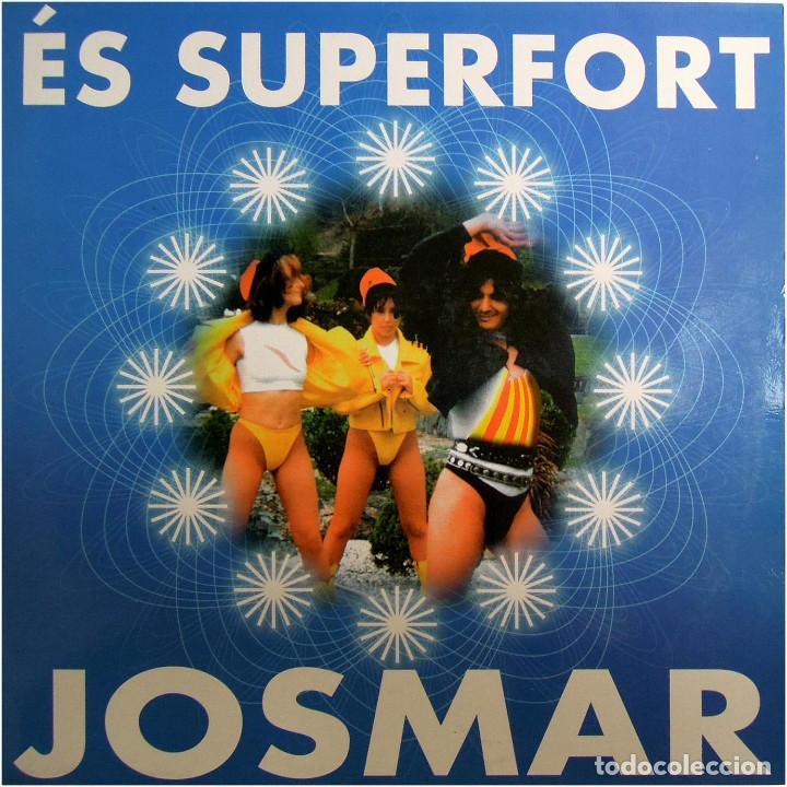 JOSMAR - ÉS SUPERFORT - MAXI SPAIN 1998 - BLANCO Y NEGRO MX 891 (M) (Música - Discos de Vinilo - Maxi Singles - Festival de Eurovisión)