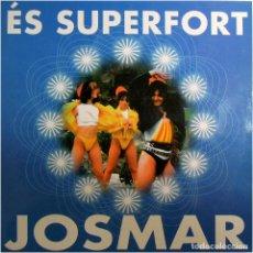 Discos de vinilo: JOSMAR - ÉS SUPERFORT - MAXI SPAIN 1998 - BLANCO Y NEGRO MX 891 (M) . Lote 183503955