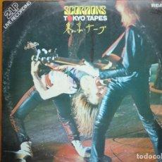 Discos de vinilo: 2 LP SCORPIONS: TOKYO TAPES (1978). Lote 183507466
